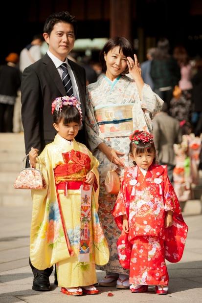 Shichi Go San -Family Portrait