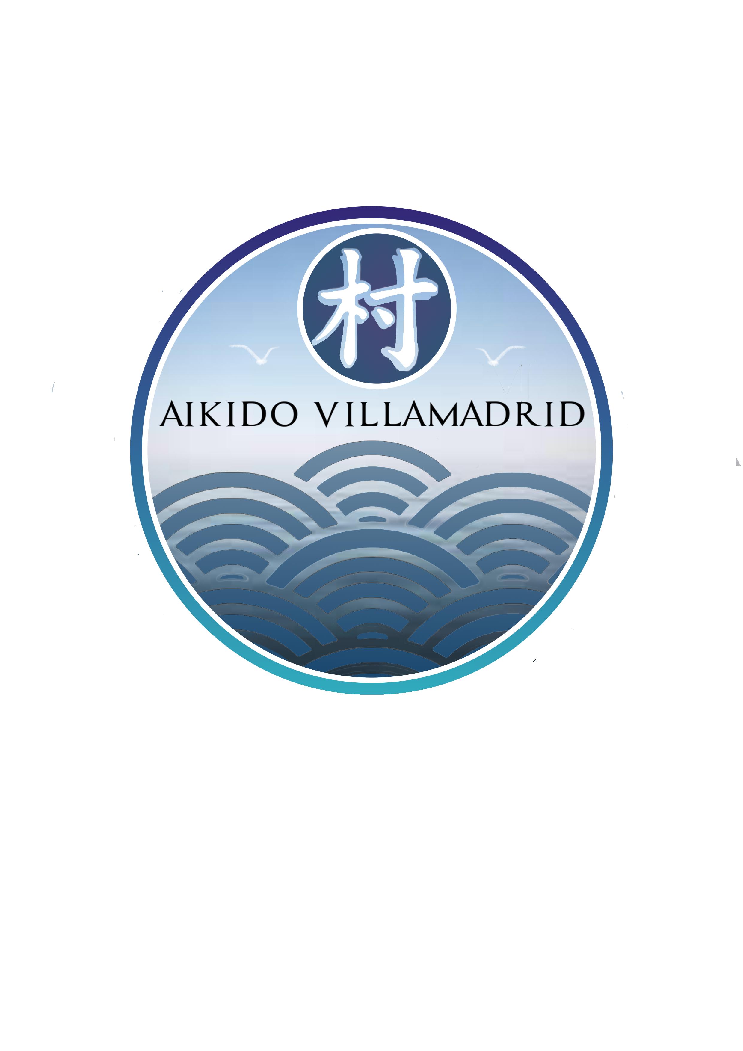 Aikido en Madrid. Logo Aikido Villamadrid